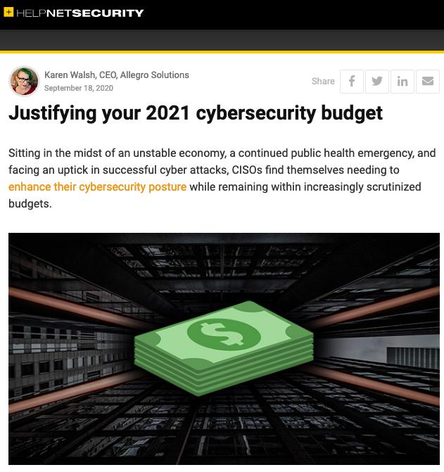 Karen Walsh Cybersecurity